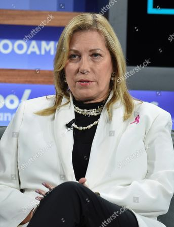 Stock Photo of Susan G. Komen CEO Paula Schneider participates in the Yahoo Finance All Markets Summit at Union West, in New York