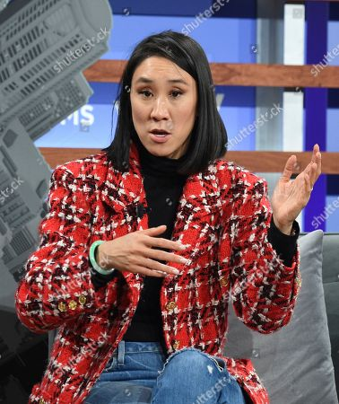 Instagram director of fashion partnerships Eva Chen participates in the Yahoo Finance All Markets Summit at Union West, in New York