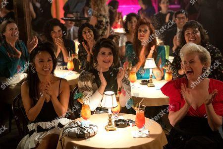 Marianna Palka as Reggie Walsh, Ellen Wong as Jenny Chey, Shakira Barrera as Yolanda Rivas, Sunita Mani as Arthie Premkumar, Rebekka Johnson as Dawn Rivecca, Kate Nash as Rhonda Richardson, Britney Young as Carmen Wade and Kimmy Gatewood as Stacey Beswick