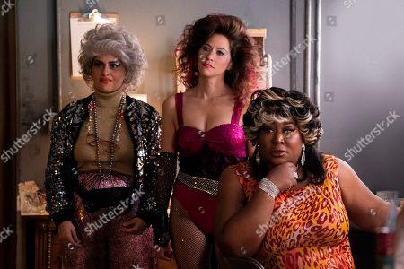 Rebekka Johnson as Dawn Rivecca, Jackie Tohn as Melanie Rosen and Kia Stevens as Tamme Dawson
