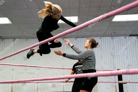 Shauna Duggins Stunt Coordinator and Marianna Palka as Reggie Walsh