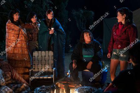 Sunita Mani as Arthie Premkumar, Shakira Barrera as Yolanda Rivas, Rebekka Johnson as Dawn Rivecca, Britney Young as Carmen Wade and Jackie Tohn as Melanie Rosen