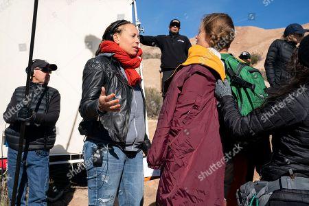 Anya Adams Director and Marianna Palka as Reggie Walsh