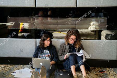 Carly Mensch Writer/Creator and Liz Flahive Writer/Creator