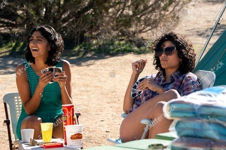 Sunita Mani as Arthie Premkumar and Shakira Barrera as Yolanda Rivas