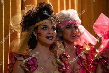 Shakira Barrera as Yolanda Rivas and Sunita Mani as Arthie Premkumar