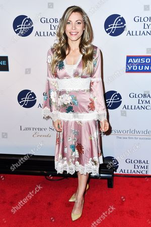 Editorial image of 5th Annual Global Lyme Alliance Gala, Arrivals, Cipriani 42nd Street, New York, USA - 10 Oct 2019