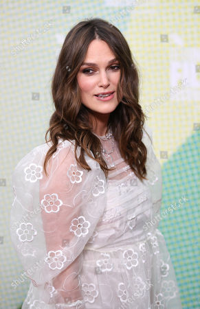 Stock Photo of Kiera Knightley poses at a screening of 'Official Secrets' during the BFI London Film Festival in Embankment Garden Cinema in London, Britain, 10 October 2019. The British Film Institute festival runs from 02 to 13 October.