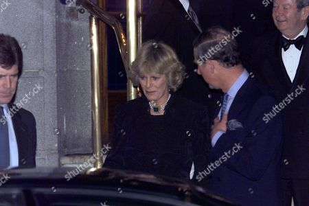 Britain's Prince Charles The Prince Of Wales And His Friend Camilla Parker Bowles Leave The Ritz Hotel In London Thursday January 28 1999 After Attending The 50th Birthday Party Of Camilla S Sister Annabel Elliott. It Is The First Time That The Couple Who Have Been Friends For More Than 25 Years Have Appeared Together As A Couple In Public.britain's Prince Charles The Prince Of Wales And His Friend Camilla Parker Bowles Leave The Ritz Hotel In London Thursday January 28 1999 After Attending The 50th Birthday Party Of Camilla S Sister Annabel Elliott. It Is The First Time That The Couple Who Have Been Friends For More Than 25 Years Have Appeared Together As A Couple In Public. **note** Camilla Parker Bowles Now The Duchess Of Cornwall Married Prince Charles 9/4/05.