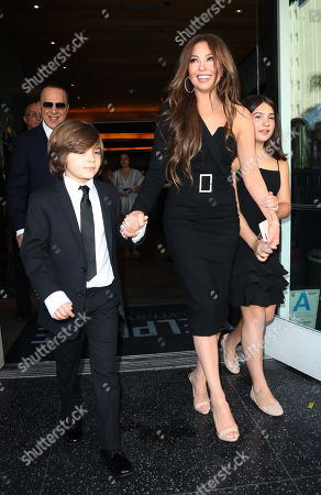 Tommy Mottola with Thalia and children