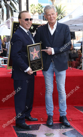Tommy Mottola and David Foster