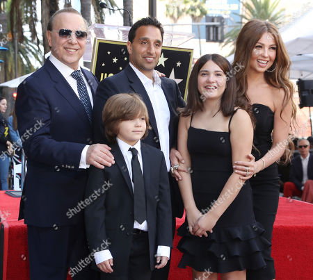 Michael Mottola, Tommy Mottola, Thalia and children