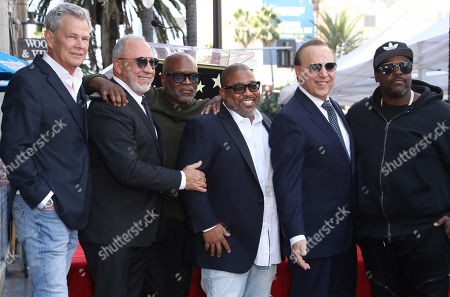 David Foster, Emilio Estefan, LA Reid, Cory Rooney, Tommy Mottola and Rodney Jerkins