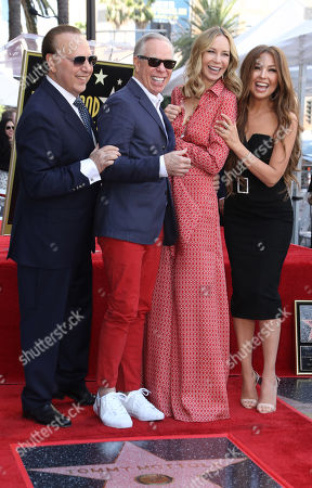 Tommy Mottola, Tommy Hilfiger, Dee Ocleppo and Thalia