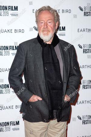 Stock Image of Ridley Scott