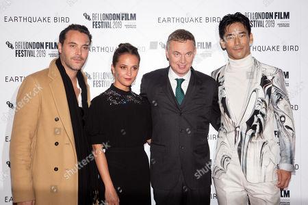 Jack Huston, Alicia Vikander, Wash Westmoreland and Naoki Kobayashi