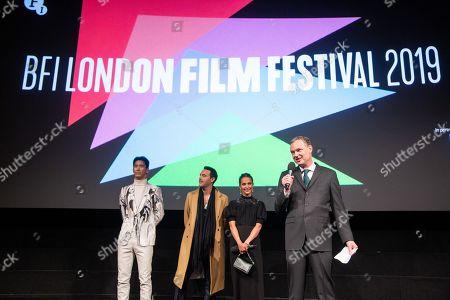 Naoki Kobayashi, Jack Huston, Alicia Vikander and Wash Westmoreland