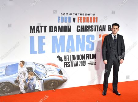 Editorial photo of 'Le Mans '66' film premiere, BFI London Film Festival, UK - 10 Oct 2019