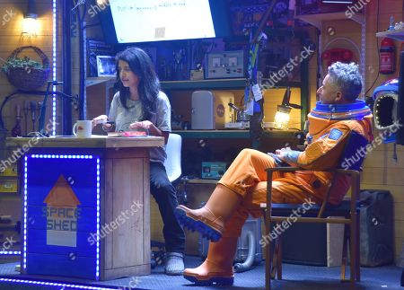 Stock Photo of Konnie Huq and guest
