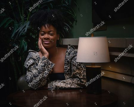"This photo shows Ari Lennox posing for a portrait in New York to promote ""Shea Butter Baby,"" her full-length debut released in May"