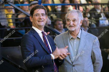 Nicolas Dufourc and Jacques Attali