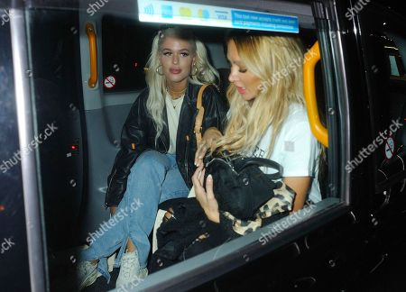Lottie Tomlinson and Lou Teasdale