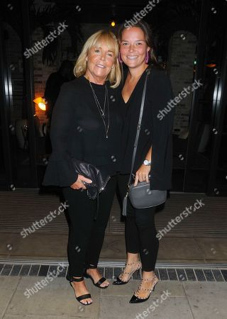 Linda Robson with her daughter