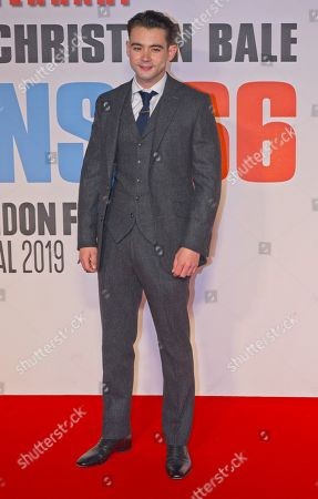 Editorial image of 'Le Mans '66' film premiere, BFI London Film Festival, UK - 10 Oct 2019