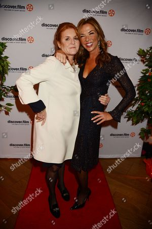 Stock Picture of Heather Kerzner and Sarah Ferguson Duchess of York