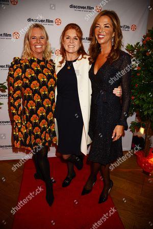 Sarah Jane Thomson, Sarah Ferguson Duchess of York and Heather Kerzner