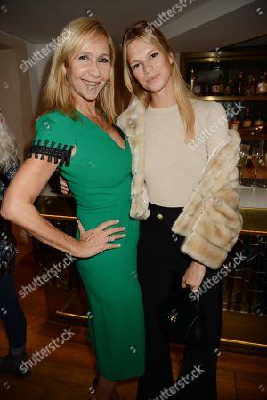 Stock Photo of Tanya Bryer and Nadine Leopold