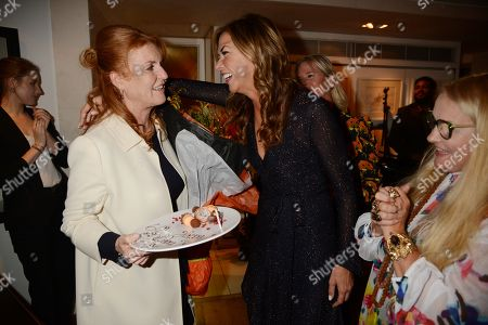 Heather Kerzner and Sarah Ferguson Duchess of York