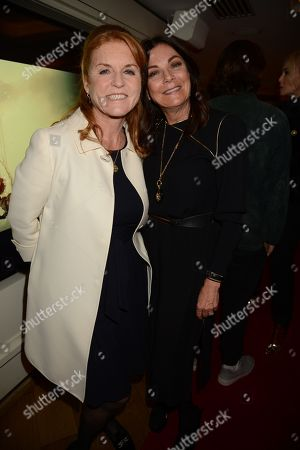 Sarah Ferguson Duchess of York and Susan Young