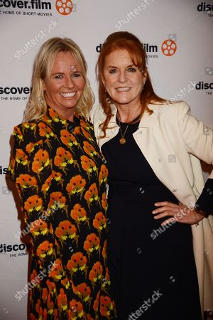 Sarah Jane Thomson and Sarah Ferguson Duchess of York
