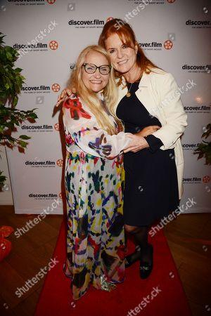 Stock Picture of Jaine Green and Sarah Ferguson Duchess of York
