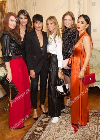 Angela Radcliffe, Nadejda Savcova, Paola Kudacki, Caroline Massenet, Rosie Tapner & Vicky Lee