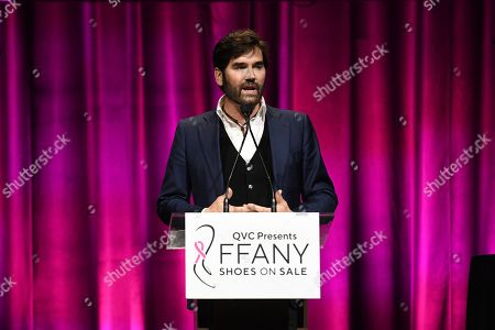 Editorial picture of QVC Presents 'FFANY Shoes on Sale', Inside, Ziegfeld Ballroom, New York, USA - 10 Oct 2019