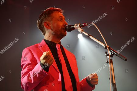 Editorial image of The Divine Comedy in concert at The Old Fruitmarket, Glasgow, Scotland, UK - 10 October 2019