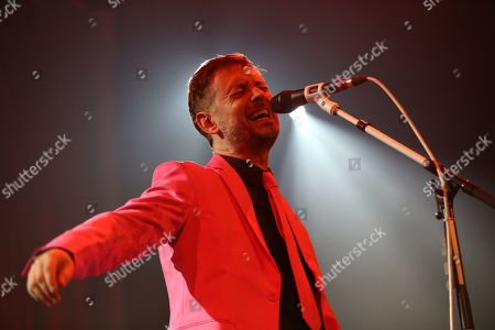 Editorial photo of The Divine Comedy in concert at The Old Fruitmarket, Glasgow, Scotland, UK - 10 October 2019
