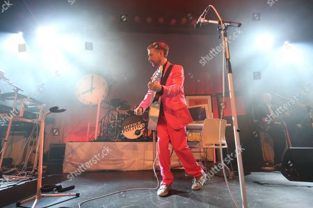 Editorial picture of The Divine Comedy in concert at The Old Fruitmarket, Glasgow, Scotland, UK - 10 October 2019