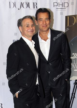 Jason Binn and Clive Owen