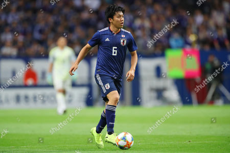 Editorial picture of Japan v Mongolia, FIFA World Cup Qualifier Group F, Football, Saitama Stadium, Japan - 10 Oct 2019
