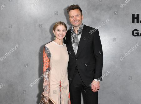 Stock Photo of Sarah Williams and Joel McHale