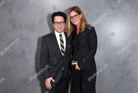 Stock Photo of J.J. Abrams and Katie McGrath