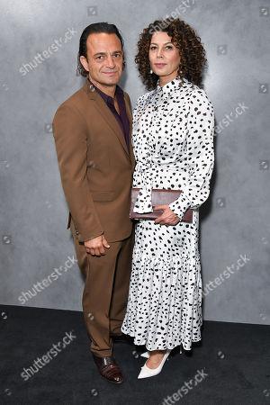 Ramin Shamshiri and Donna Langley