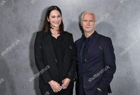 Bettina Korek and Klaus Biesenbach