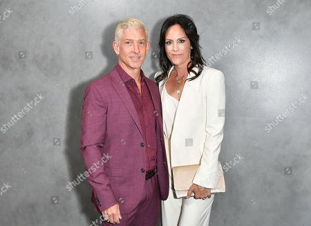 Stock Image of John McIlwee and Annabeth Gish