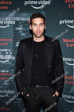 "Ido Samuel attends the premiere party for the Amazon Original series ""Modern Love"" at a Museum of Modern Love pop-up venue, in New York"
