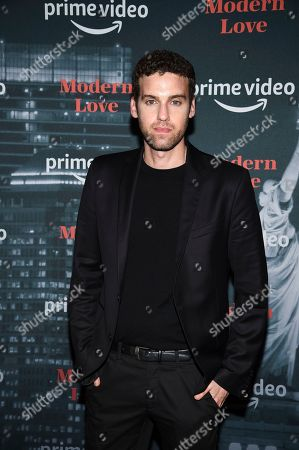 "Stock Image of Ido Samuel attends the premiere party for the Amazon Original series ""Modern Love"" at a Museum of Modern Love pop-up venue, in New York"