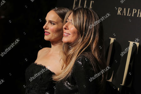 Natalie Portman and Nina Garcia